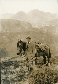 Frederick Wilson Popenoe (1892–1975), Ecuador, 1921, photograph by an unknown photographer, HI Archives portrait no. 5.
