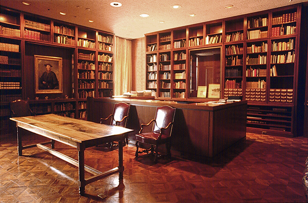 <p>Strandell Room, Hunt Institute, photograph by Frank A. Reynolds.